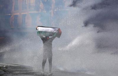 Γαλλία: Επεισόδια αστυνομικών με διαδηλωτές υπέρ της Παλαιστίνης στο Παρίσι