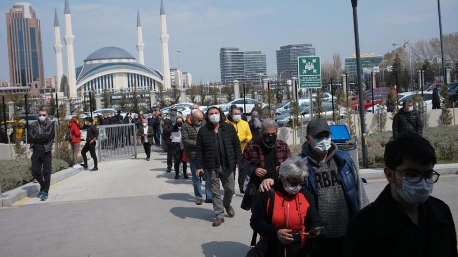 Τουρκία: Αρνητικό ρεκόρ με 12.381 κρούσματα Covid – 58 νεκροί σε ένα 24ωρο