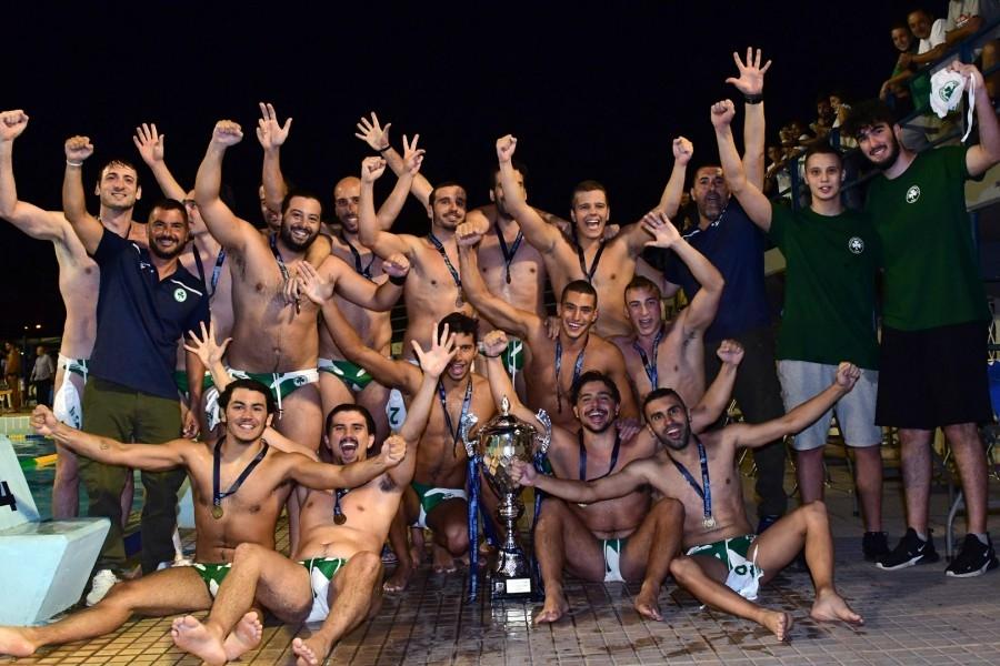 Α2 πόλο ανδρών: Πρωταθλητής ο Παναθηναϊκός!