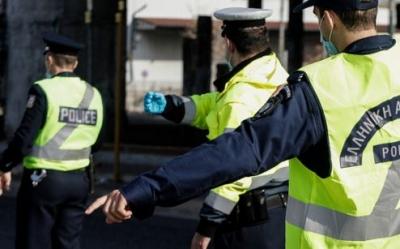 Έλεγχοι για τα μέτρα αποφυγής της διάδοσης του κορωνοϊού – Πρόστιμα και τρεις συλλήψεις