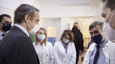 Μητσοτάκης: Είμαστε από τους καλύτερους στην Ευρώπη στους εμβολιασμούς κατά της covid