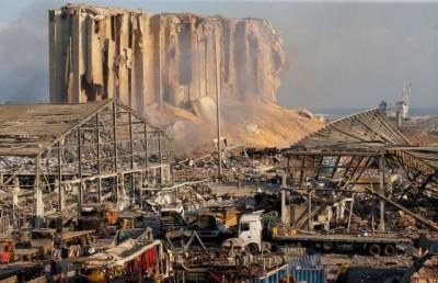 Βηρυτός: Έναν κρατήρα 43 μέτρων βάθους προκάλεσε η φονική έκρηξη στην περιοχή του λιμανιού