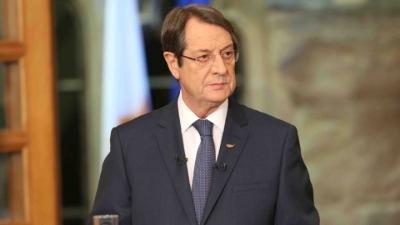 Αναστασιάδης: Δεν αποδεχόμαστε όρους αντίθετους με τις Συμφωνίες Κορυφής, Ψηφίσματα του ΟΗΕ και ευρωπαϊκό κεκτημένο