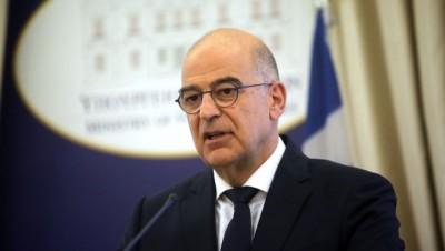 Δένδιας: Η Ελλάδα στηρίζει την προσπάθεια ανοικοδόμησης της Συρίας