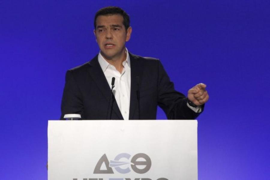 Τσίπρας (ΔΕΘ 2021): Δείτε live την ομιλία του προέδρου του ΣΥΡΙΖΑ