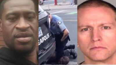 ΗΠΑ: Για φόνο β' βαθμού, με ποινή καθείρξεως 40 χρόνων, παραπέμπεται ο αστυνομικός που γονάτισε στο λαιμό του G. Floyd