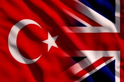 Ηνωμένο Βασίλειο και Τουρκία υπογράφουν νέα συμφωνία ελεύθερου εμπορίου στις 29/12