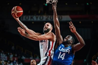 Μπάσκετ Ανδρών: Θρίαμβος της Γαλλίας (83-76), 1η ήττα μετά από 25 σερί νίκες σε 17 χρόνια για την Team USA