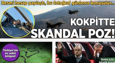 Milliyet: Σκάνδαλο η πόζα Pyatt στο F 16 κατά τη διάρκεια της άσκησης Ηνίοχος 21