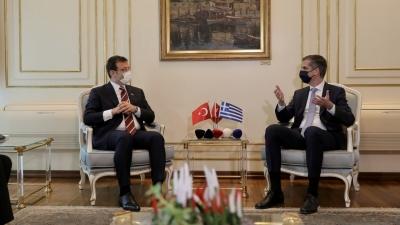 Μήνυμα Imamoglu: Η φιλία είναι η μοναδική λύση στα προβλήματα Ελλάδας - Τουρκίας