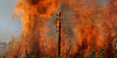 Υπό μερικό έλεγχο η πυρκαγιά στη Ριτσώνα, μετά από σκληρή μάχη των πυροσβεστών