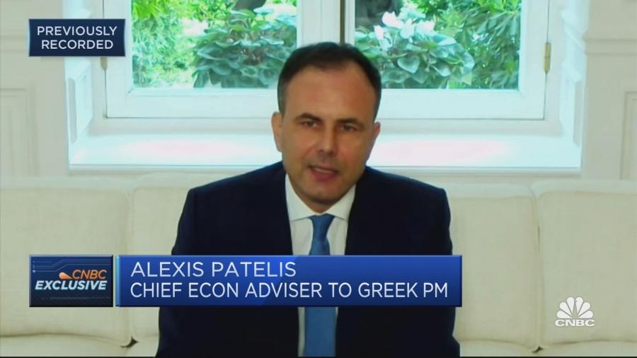 Πατέλης (σύμβουλος πρωθυπουργού) στο CNBC: Θεμελιώδης μετασχηματισμός της οικονομίας με 175 μεταρρυθμίσεις