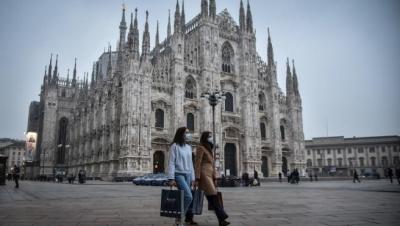 Ιταλία: Τέλος η υποχρεωτική χρήση μάσκας σε εξωτερικούς χώρους από 28/6