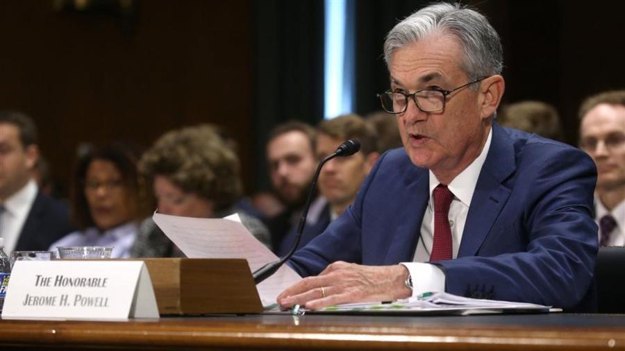 ΗΠΑ: Σε ακρόαση (23/2) στη Γερουσία για τη νομισματική πολιτική ο επικεφαλής της Fed Jerome Powell