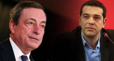 Κρίσιμη συνάντηση Τσίπρα με Draghi (ΕΚΤ) στις Βρυξέλλες - Στο επίκεντρο ομόλογα, εγγυήσεις Δημοσίου και τράπεζες