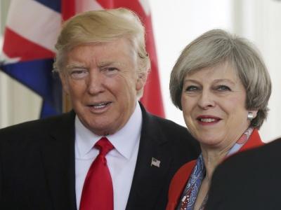 Βρετανία: May και Trump δεν σχεδιάζουν επί του παρόντος να συζητήσουν