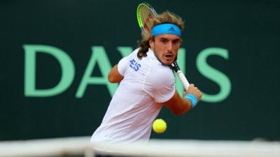 Davis Cup: Σίγουροι για τη συμμετοχή του Τσιτσιπά οι Λιθουανοί