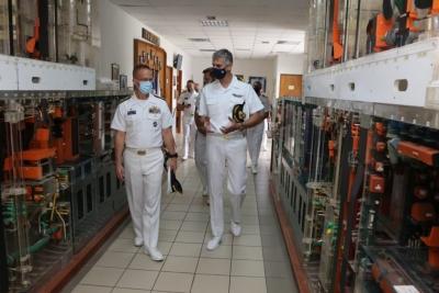 Στο ΓΕΝ και στο Αρχηγείο Στόλου, ο διοικητής υποβρυχίων του ΝΑΤΟ