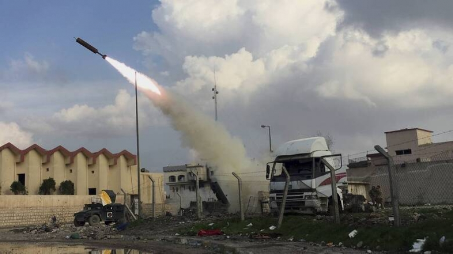 Ιράκ: Επίθεση με ρουκέτα εναντίον στρατιωτικής βάσης που φιλοξενεί Αμερικανούς