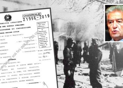 Η ιταλική Δικαιοσύνη δικαίωσε οριστικά τους Διστομίτες - Αποζημίωση - μαμούθ για τα εγκλήματα των Ναζί