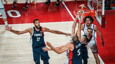 Μπάσκετ: Ντέρμπι και νίκη με 84-75 για τη Γαλλία κόντρα στην Ιταλία και τώρα ημιτελικός με Σλοβενία!