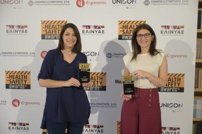 Διπλή διάκριση για Coca Cola 3Ε στα Health & Safety Awards