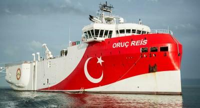 Η παρουσία του Oruc Reis στο Καστελόριζο πέραν από κατάφωρη παραβίαση της ελληνικής θαλάσσιας δικαιοδοσίας... έχει και μια χρησιμότητα
