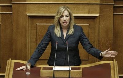Γεννηματά: Κανείς δεν αμφισβητεί την ελληνική κυριαρχία των Ιμίων - Ματαιοπονεί η Τουρκία