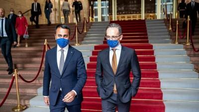 Di Maio προς Haas: Η Ιταλία δεν μπορεί να δεχθεί συμβιβασμούς που ζημιώνουν το μέλλον της Ευρώπη
