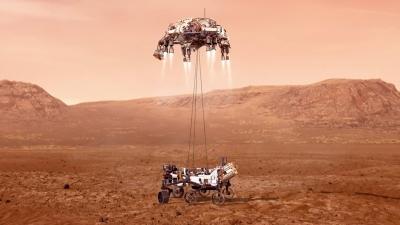 NASA: Προσεδαφίστηκε το Perseverance στον Άρη, κόβοντας... ανάσες για 7 λεπτά - Η ιστορική αποστολή ξεκινά