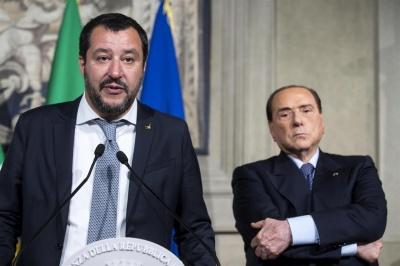 Κινδυνεύει με διάλυση η Forza Italia του Βerlusconi - Οι βουλευτές του συντάσσoνται με τον Salvini που προετοιμάζεται για σύγκρουση με την ΕΕ