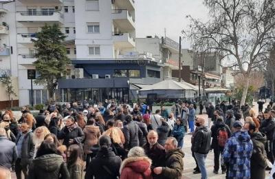 Θεσσαλονίκη: Συγκέντρωση διαμαρτυρίας για το σκληρό lockdown