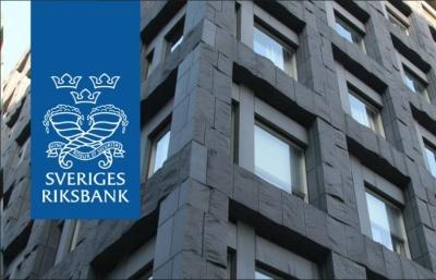 Σουηδία: Κατά 0,25% αύξησε τα βασικά της επιτόκια η Κεντρική Τράπεζα της χώρας, στο -0,25%