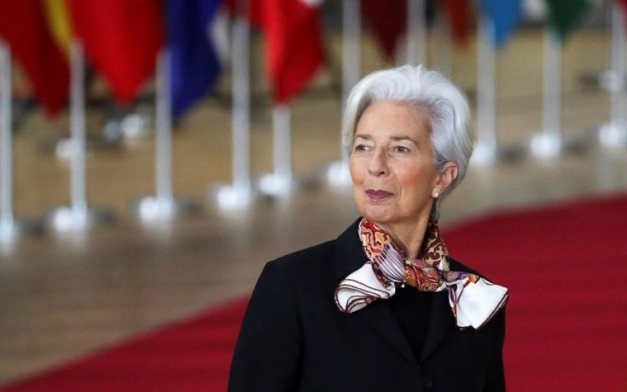 Lagarde (ΕΚΤ) στο Politico: Πρώιμη η όποια συζήτηση για τη σταδιακή άρση των μέτρων στήριξης