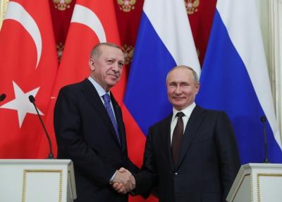 Στο επίκεντρο των συνομιλιών Putin και Erdogan, η Συρία, η Λιβύη, η ενεργειακή και αμυντική συνεργασία