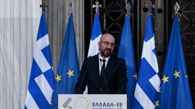 Michel (ΕΕ):  Η κυοφορία της Ευρώπης με τις έννοιες της Δημοκρατίας και της Ελευθερίας και ο μετασχηματισμός της Ελλάδας