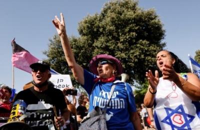 Πανηγυρισμοί στο Ισραήλ για την αποχώρηση του Netanyahu από την εξουσία