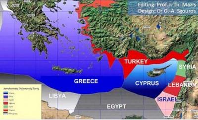 Ποιος δικαιούται τι στη Μεσόγειο - Πώς θα πρέπει να γίνει η χάραξη των ΑΟΖ - Είναι νόμιμη η σύμβαση Άγκυρας-Τρίπολης;