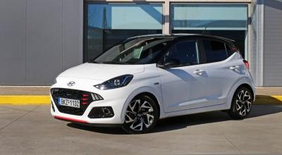 Δοκιμάζουμε το νέο Hyundai i10 N-line 100 PS!