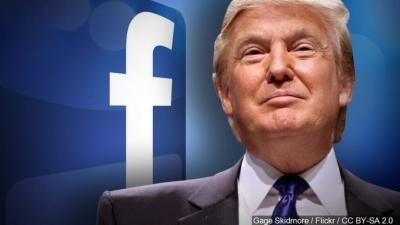 Facebook: Τις επόμενες ημέρες θα αποφασιστεί εάν θα συνεχιστεί το «μπλόκο» στον Trump