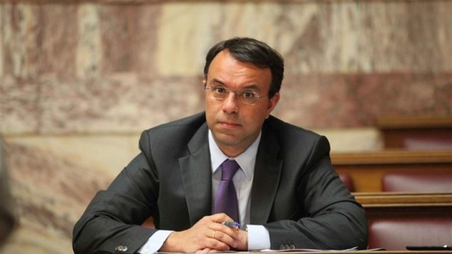 Σταϊκούρας: Το φορολογικό νομοσχέδιο θα οδηγήσει σε επανεκκίνηση της ανάπτυξης - ΣΥΡΙΖΑ: Με ταξικό πρόσημο οι επιλογές της κυβέρνησης