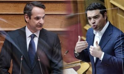Σφοδρή σύγκρουση στη Βουλή - Τσίπρας: Να φοβάστε την οργή των νοικοκυραίων - Μητσοτάκης: Θέλετε νέες πλατείες αγανακτισμένων