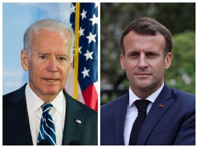 Επικοινωνία Biden και Macron για την ευρωπαϊκή άμυνα - Θα συναντηθούν στη G20