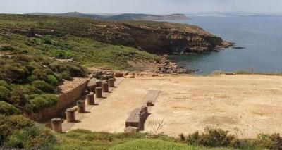 Στα εγκαίνια του ανανεωμένου αρχαιολογικού χώρου του Καβειρίου στη Λήμνο η Μενδώνη