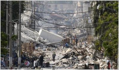 Σεισμική δόνηση 7,2 Ρίχτερ συγκλόνισε την Αϊτή - Συναγερμός για τσουνάμι