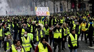 Γαλλία: Επεισόδια στο Στρασβούργο, στην 25η κινητοποίηση των «Κίτρινων Γιλέκων»