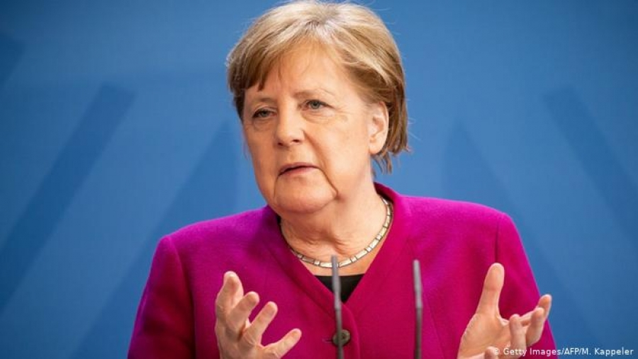 Merkel: Κάλεσε τους Γερμανούς να ψηφίσουν τον Armin Laschet για το «μέλλον» της Γερμανίας