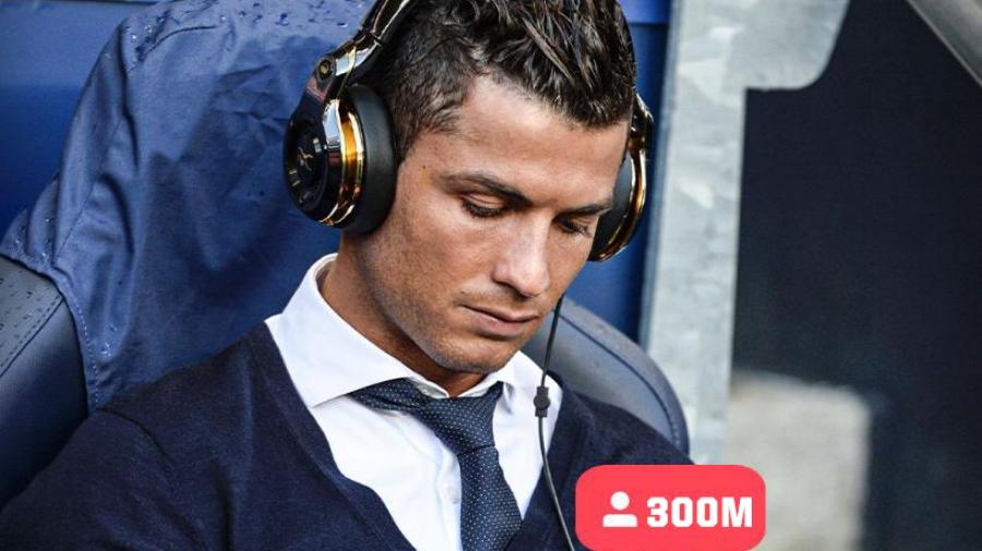 Κριστιάνο Ρονάλντο: Ο πρώτος αθλητής που συγκεντρώνει 300 εκατομμύρια followers στο Instagram