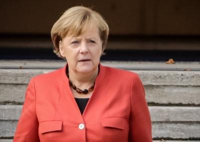 Στην Ουκρανία η Merkel, μετά τη Ρωσία - Συνομιλίες με V. Zelensky