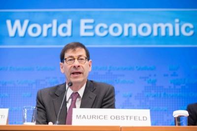 Obstfeld (ΔΝΤ): Η ελάφρυνση του χρέους μαζί με τα διαρθρωτικά μέτρα θα βελτιώσουν την προοπτική της ελληνικής οικονομίας